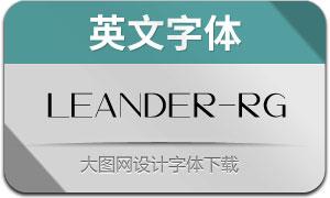 Leander-Regular(英文字体)