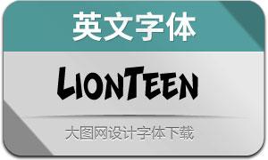 LionTeen(英文字体)