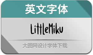 LittleMiku(英文字体)