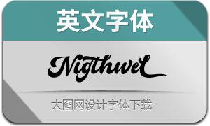Nigthwel(英文字体)