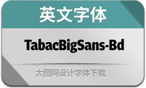 TabacBigSans-Bold(英文字体)