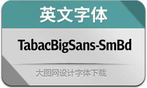 TabacBigSans-SemiBold(英文字体)