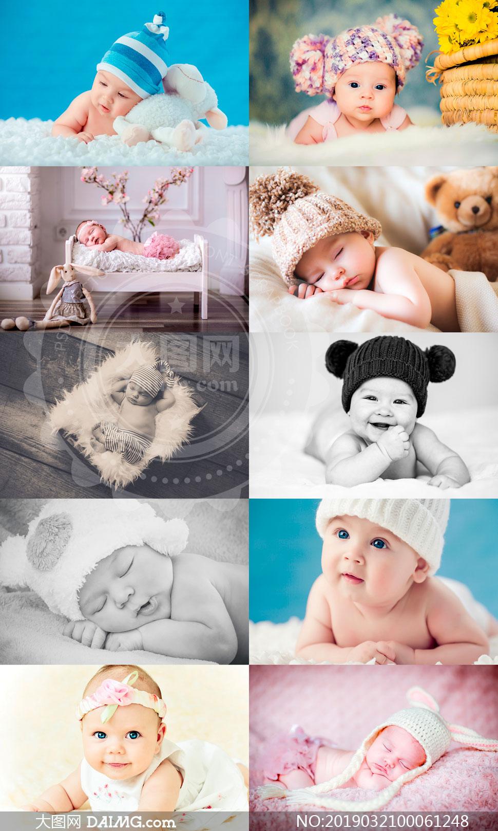 歐美新生兒照片甜美暖效果LR預設V1