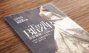 专属婚纱照摄影服务海报设计源文件