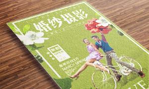 杂志封面效果影楼活动海报设计素材
