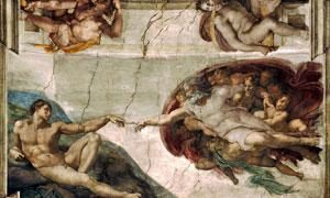 米开朗基罗的创造亚当壁画 澳门线上必赢赌场