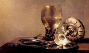 酒具盘子主题静物绘画创意 澳门线上必赢赌场