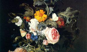 鲜花植物主题静物绘画创意 澳门线上必赢赌场