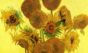 梵高十五朵向日葵油画作品 澳门线上必赢赌场