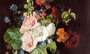 荷兰名画花瓶中的蜀葵主题 澳门线上必赢赌场