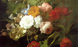 花卉植物主题静物绘画创意 澳门线上必赢赌场