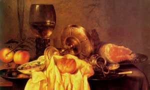 酒杯水果与杯盘等绘画创意 澳门线上必赢赌场