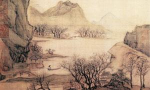 明代陆治的花溪渔隐图画作 澳门线上必赢赌场