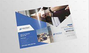 公司企业画册封面与内页等设计模板