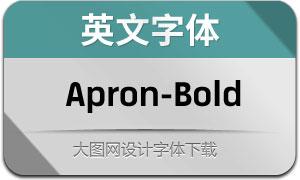 Apron-Bold(英文字体)