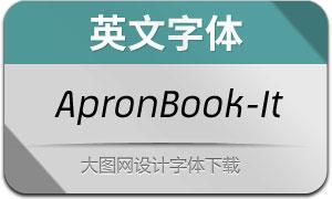 ApronBook-Italic(英文字体)