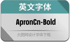 ApronCn-Bold(英文字体)