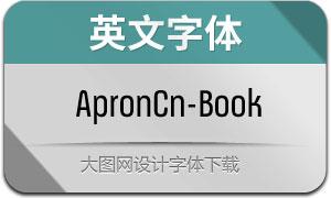 ApronCn-Book(英文字体)