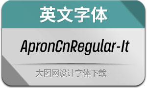 ApronCnRegular-Italic(英文字体)