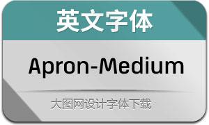 Apron-Medium(英文字体)