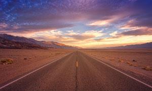 天空云彩荒漠自然风光摄影高清图片