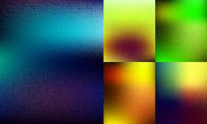 几何图形元素渐变色的背景矢量素材
