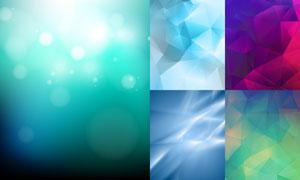 炫丽缤纷抽象背景创意矢量素材集V2