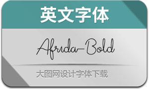 Afrida-Bold(英文字体)