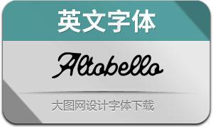 Altobello(英文字体)