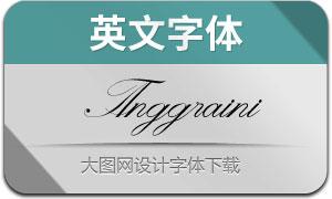 Anggraini(英文字体)