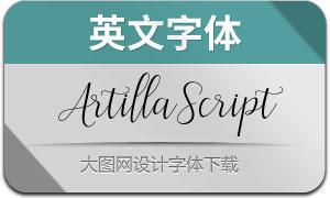 ArtillaScript(英文字体)