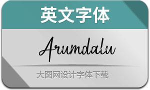 Arumdalu(英文字体)