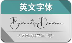 BeautyDream(英文字体)