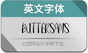 ButterSans(英文字体)