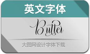 Butter(英文字体)