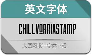 ChillvorniaStamp(英文字体)