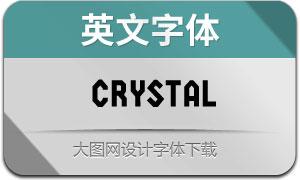 Crystal(英文字体)