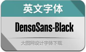 DensoSans-Black(英文字体)