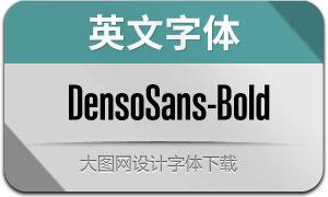 DensoSans-Bold(英文字体)