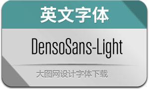 DensoSans-Light(英文字体)