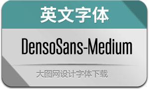DensoSans-Medium(英文字体)