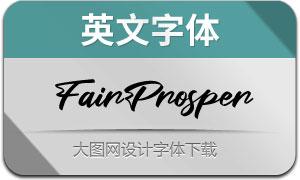 FairProsper(英文字体)