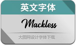 MacklessScript(英文字体)