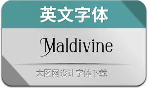 Maldivine(英文字体)