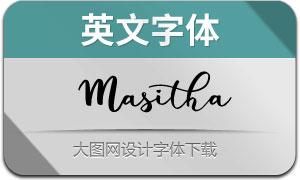 Masitha(英文字体)