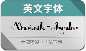 Ninetails-Regular(英文字体)