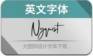 Nyquist(英文字体)