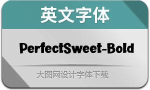 PerfectSweet-Bold(英文字体)