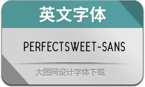 PerfectSweet-Sans(英文字体)