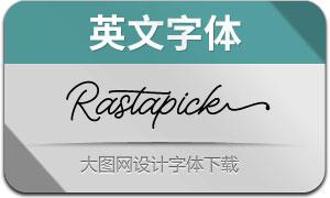 Rastapick(英文字體)